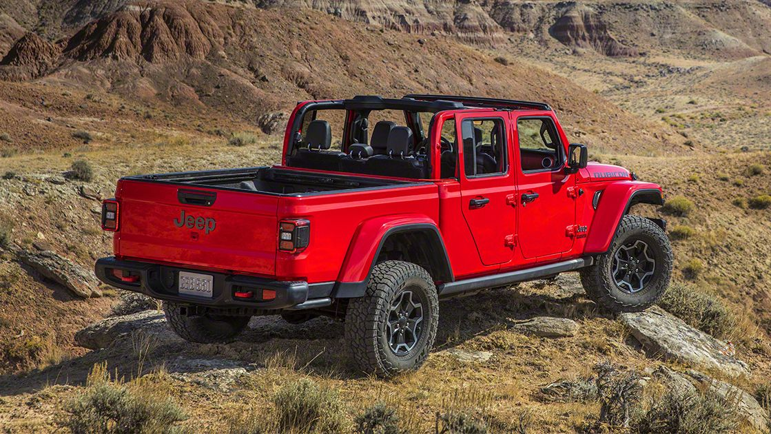 2020 Jeep Gladiator Skipped The Scrambler Name For A Reason Jeep