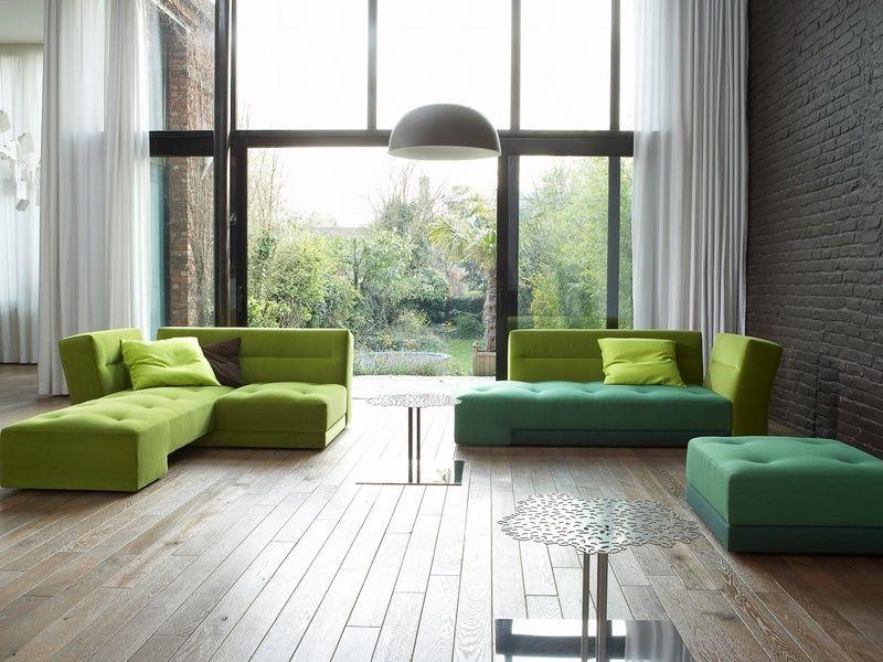 Reception] Pascal Mourgue Patchwork Sofa Via Ligne Roset: Colors Vary, X (+  X Sq.