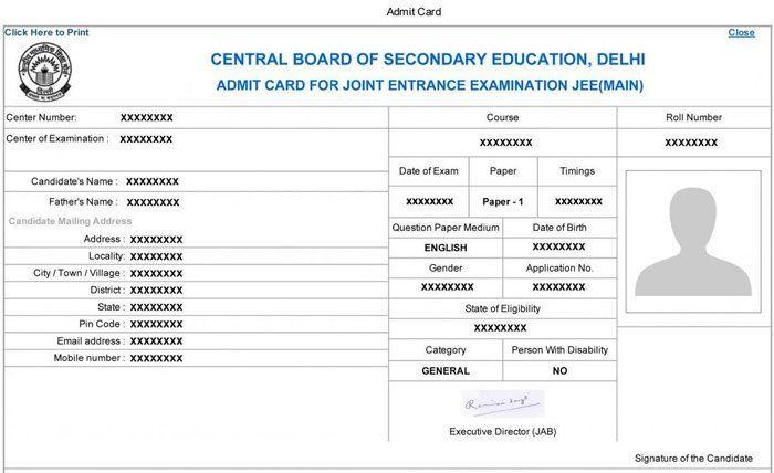 Jee Main Admit Card 2020 Postponed Career Education Education Secondary Education