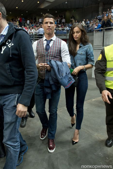 5ef441578345 Irina Shayk and Christiano Ronaldo   PLAYERS   Ronaldo, Cristiano ...