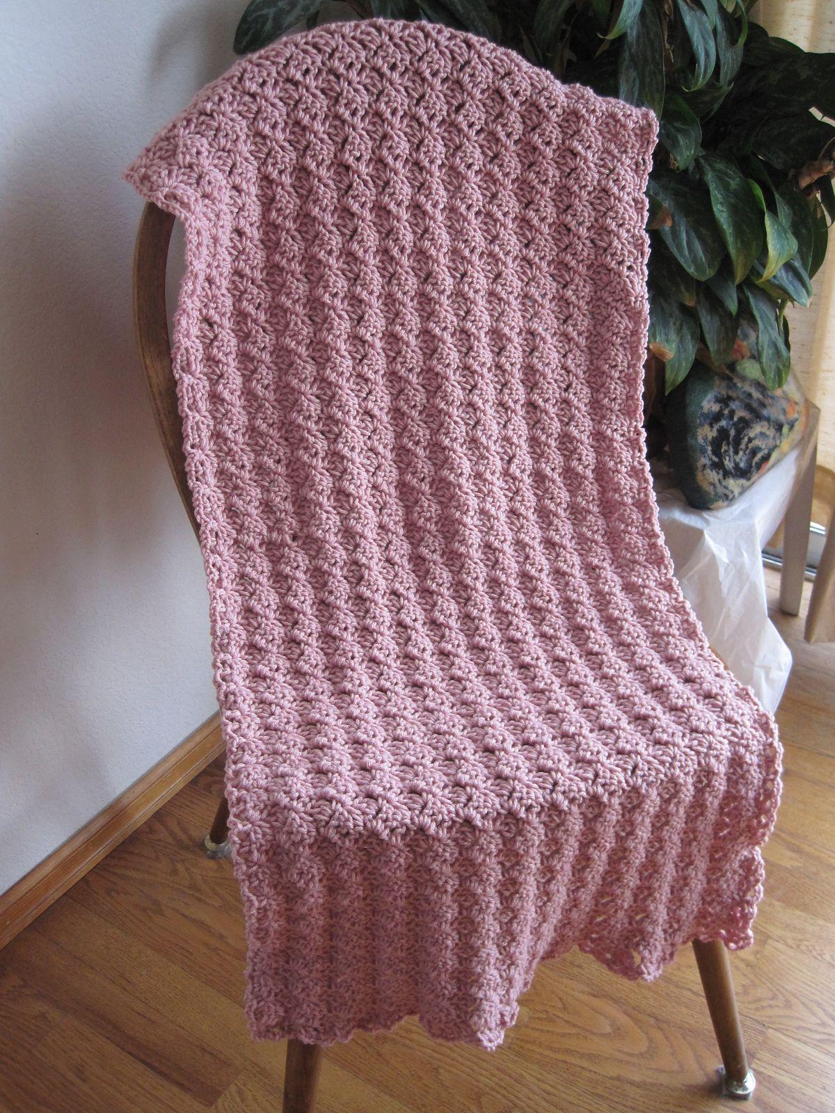 Cozy Comfort Prayer Shawl By Kathy North - Free Crochet Pattern ...