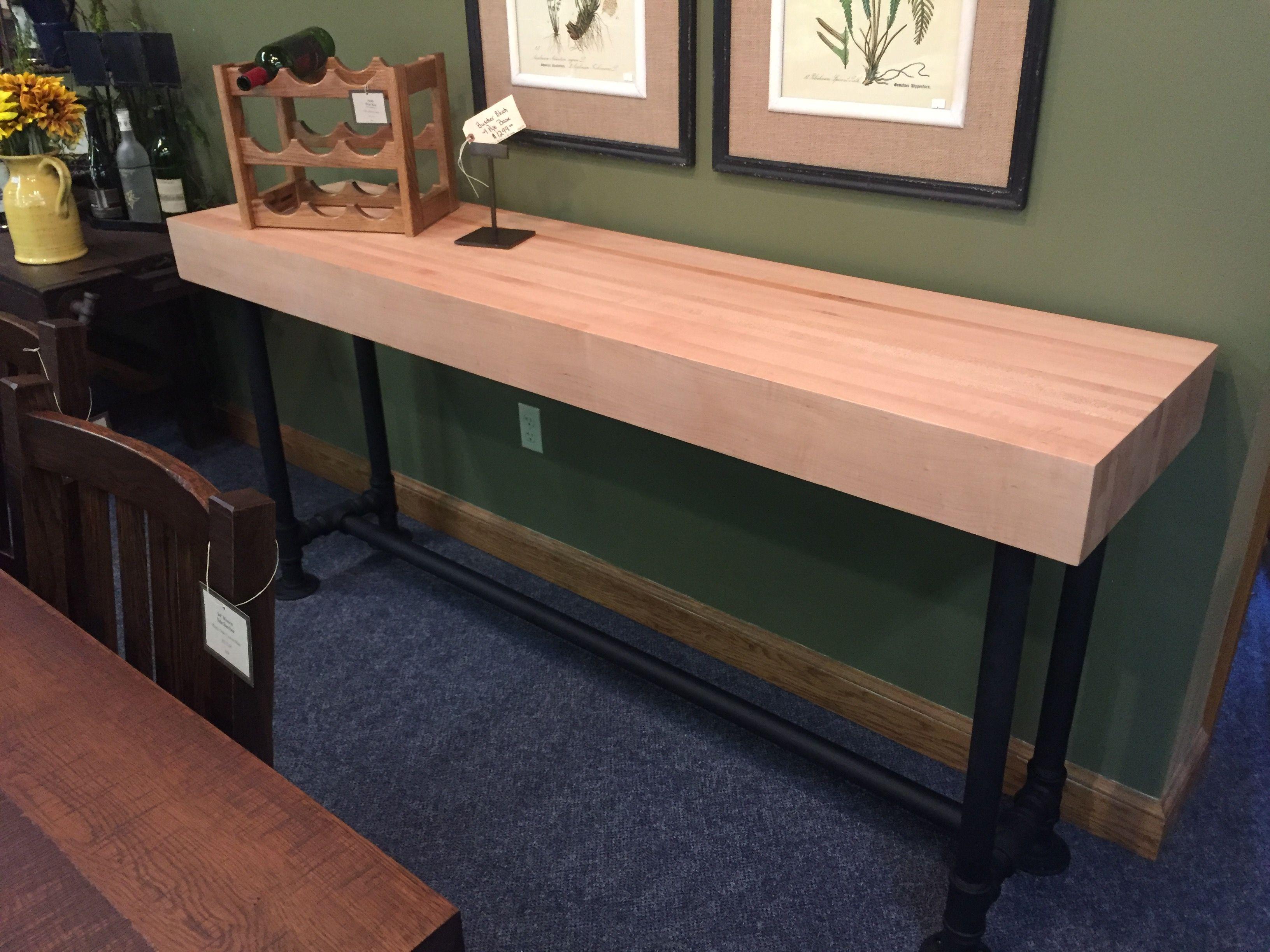 Walnut Creek Furniture Industrial Reclaimed Barn Beam Buffet Table  # Ruffino Muebles & Deco San Telmo