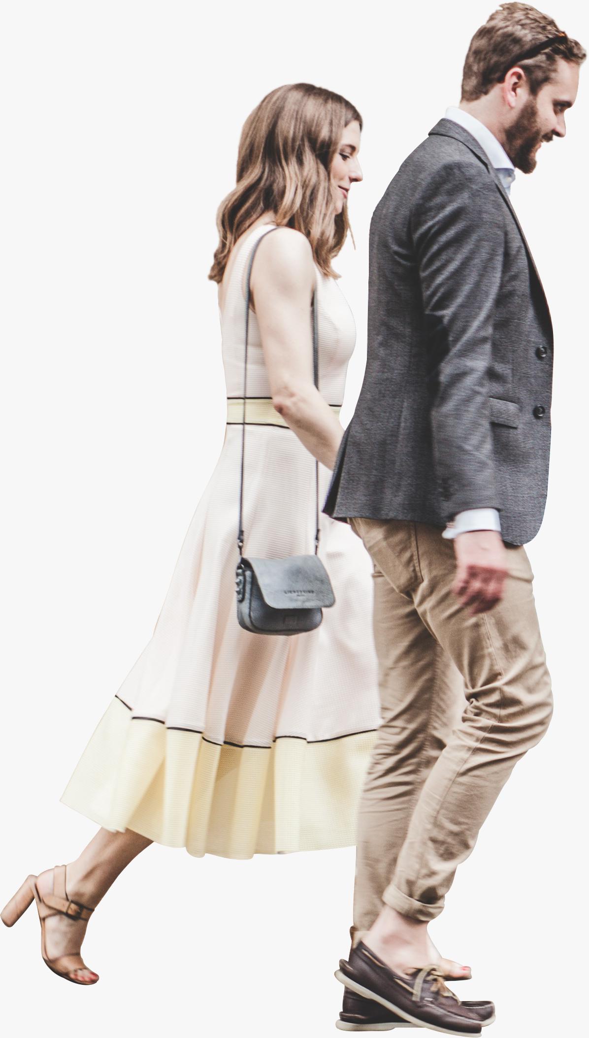 Couple Walking Png Izobrazheniya Figury Cheloveka Modeli Lyudi