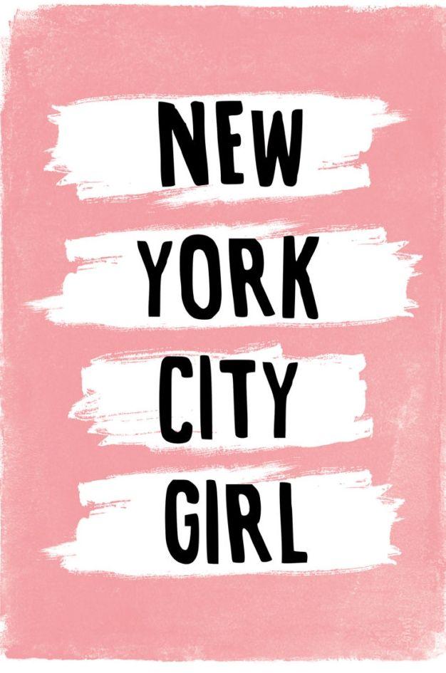 New York City Girl, via Etsy