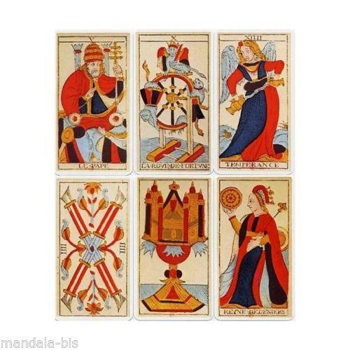 Tarot De Marseille Heron N Conver 78 Cartes Carte Cards Divination
