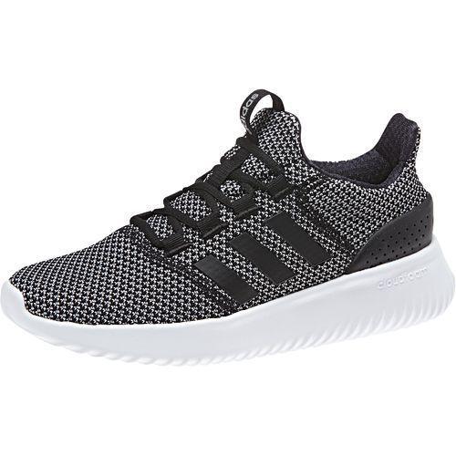 Adidas Women's Neo Cloudfoam Ultimate Running Shoes (Core Black ...