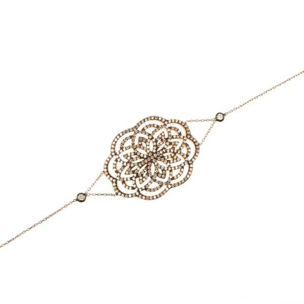 Latelita London Lotus Bracelet Rose Gold 3qkqqrha