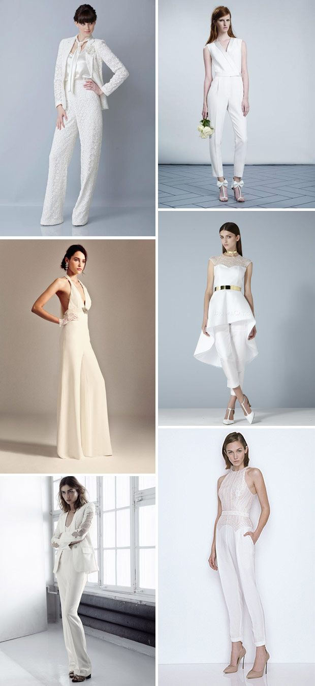 Rocking a Pair of Bridal Trousers - Style Inspiration | Pinterest ...