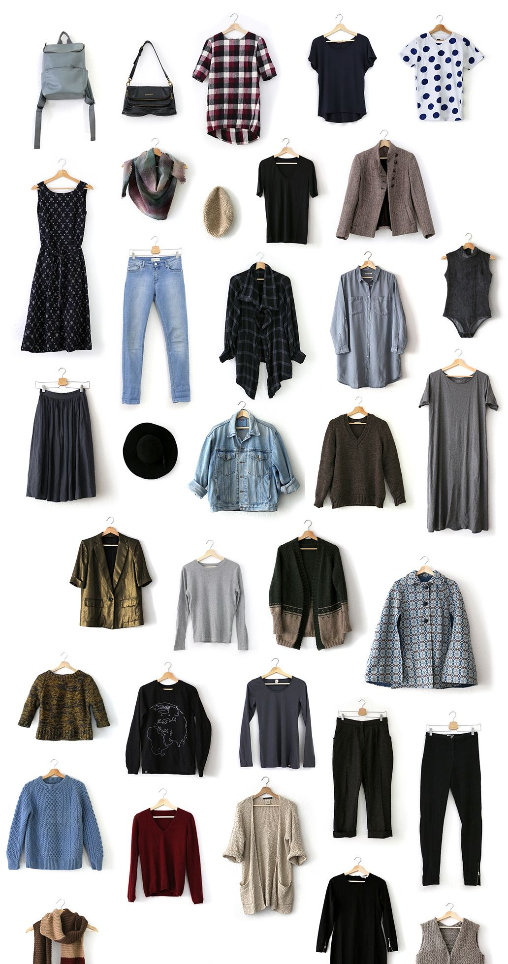 Winter Project 333 Capsule Wardrobe