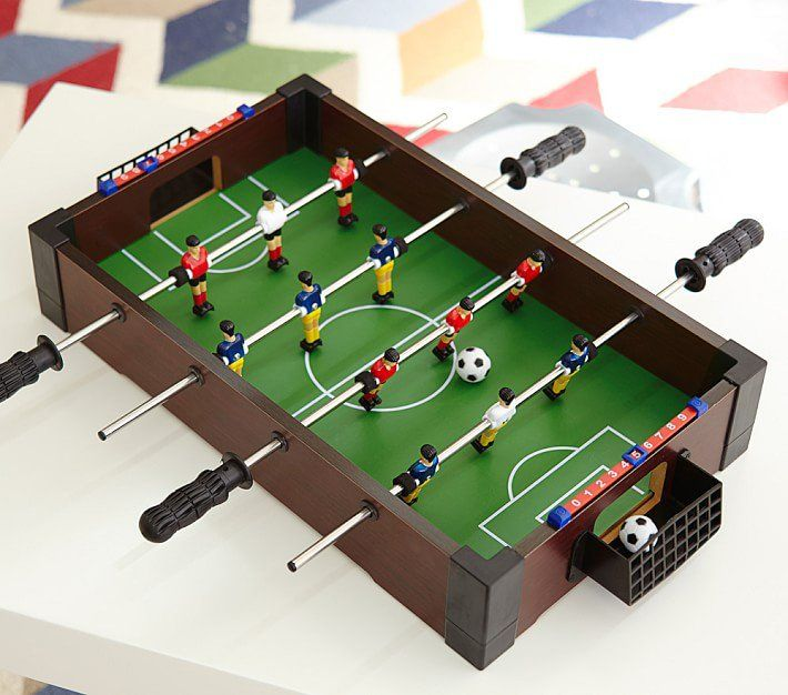 Pin For Later The Best Gifts Kids Under 10 Years Old 5 Year Olds Tabletop Foosball Table