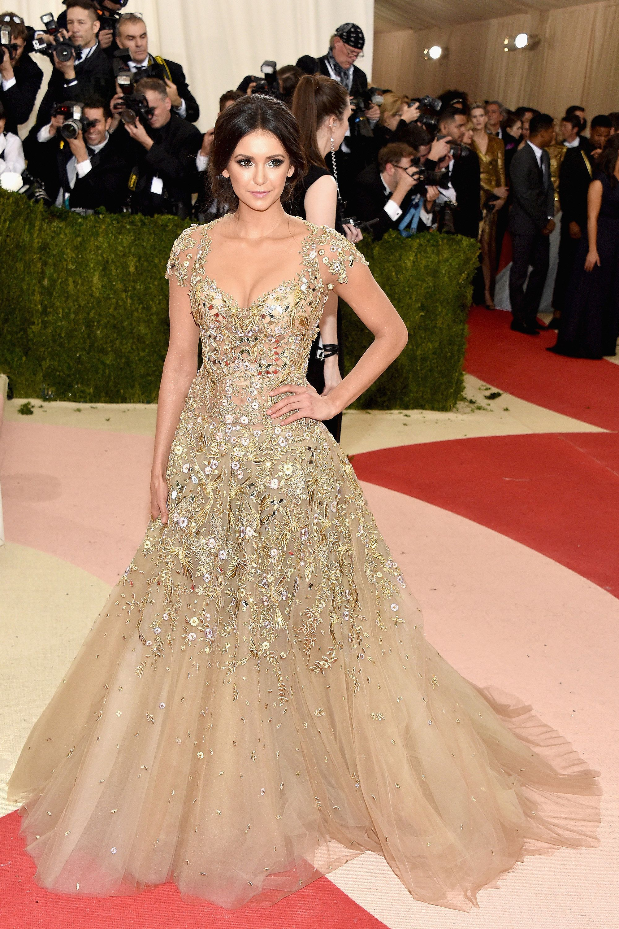 Nina Dobrev s Met Gala Appearance Will Make You Miss Katherine Pierce Even  More f7181ab7b34