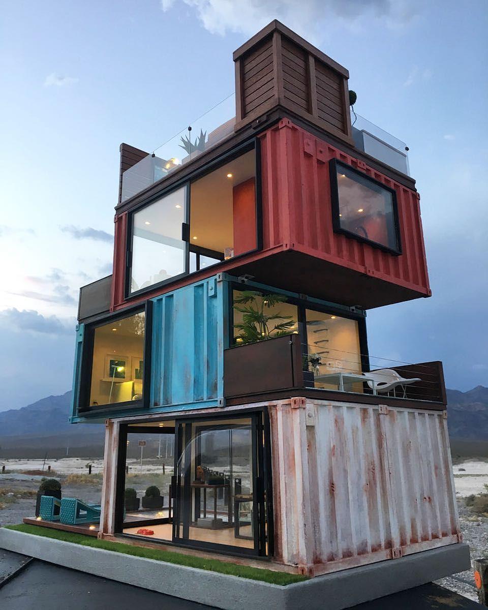 Container Home Design Ideas: Casa De Madrid By Cargotecture