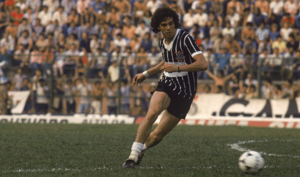 Casagrande (Walter Casagrande Júnior) - No 9 (Forward) - Sport Club Corinthians Paulista 1980/1986 - 1994
