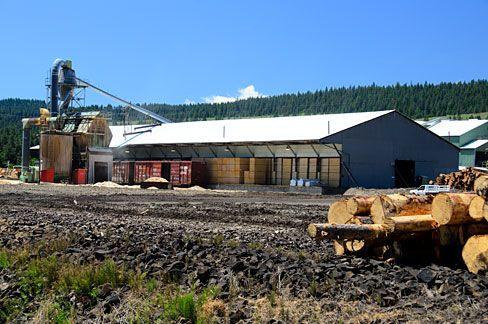 Lumber mill | File:Elgin Lumber Mill (Union County, Oregon