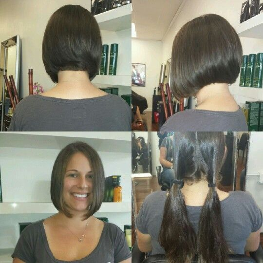 Bob haircut by Maria Arias for Nolan Vincent Salon