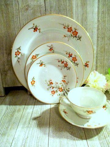 Noritake 5329 Porcelain China 73 Pieces Replacement China | EPST Gift Ideas on Etsy | Pinterest | Noritake Dinnerware and Porcelain & Noritake 5329 Porcelain China 73 Pieces Replacement China | EPST ...