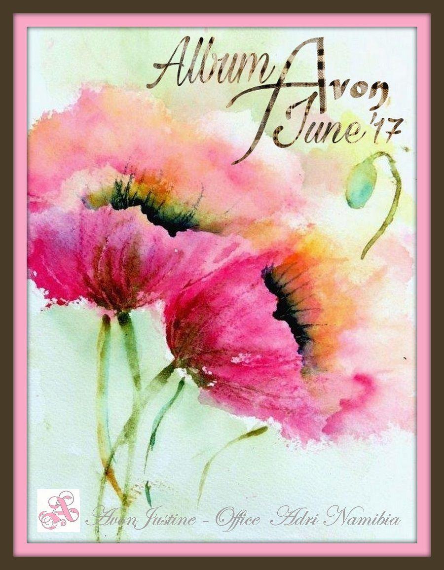 watercolor paintings of flowers - 736×966