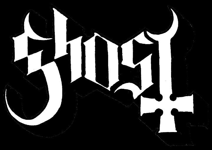 Ghost Logo Ghost Logo Band Stickers Band Logos
