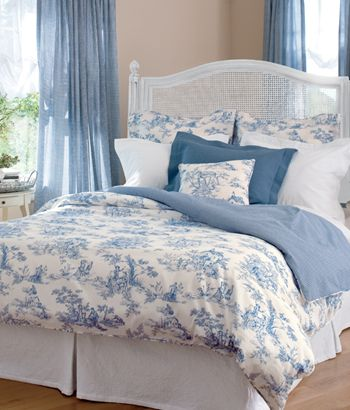 Curtains Valances Curtain Rods Draperies Country Curtains Blue Bedroom Blue Rooms Blue And White Bedding