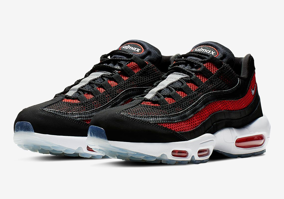 The Nike Air Max 95 Gets A Familiar Bred Upper With Icy