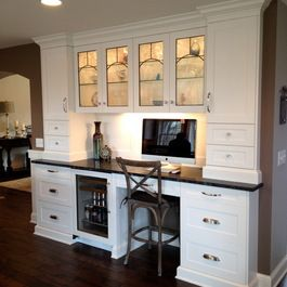 Kitchen Desk  Modern Design Llc's Design Ideas Pictures Remodel Beauteous Kitchen Desk Design Design Inspiration