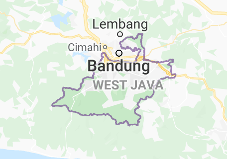 Peta Kabupaten Bandung