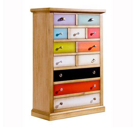 affordable meubles la maison de valerie semainier tiroirs arlequin izivacom with maison de. Black Bedroom Furniture Sets. Home Design Ideas