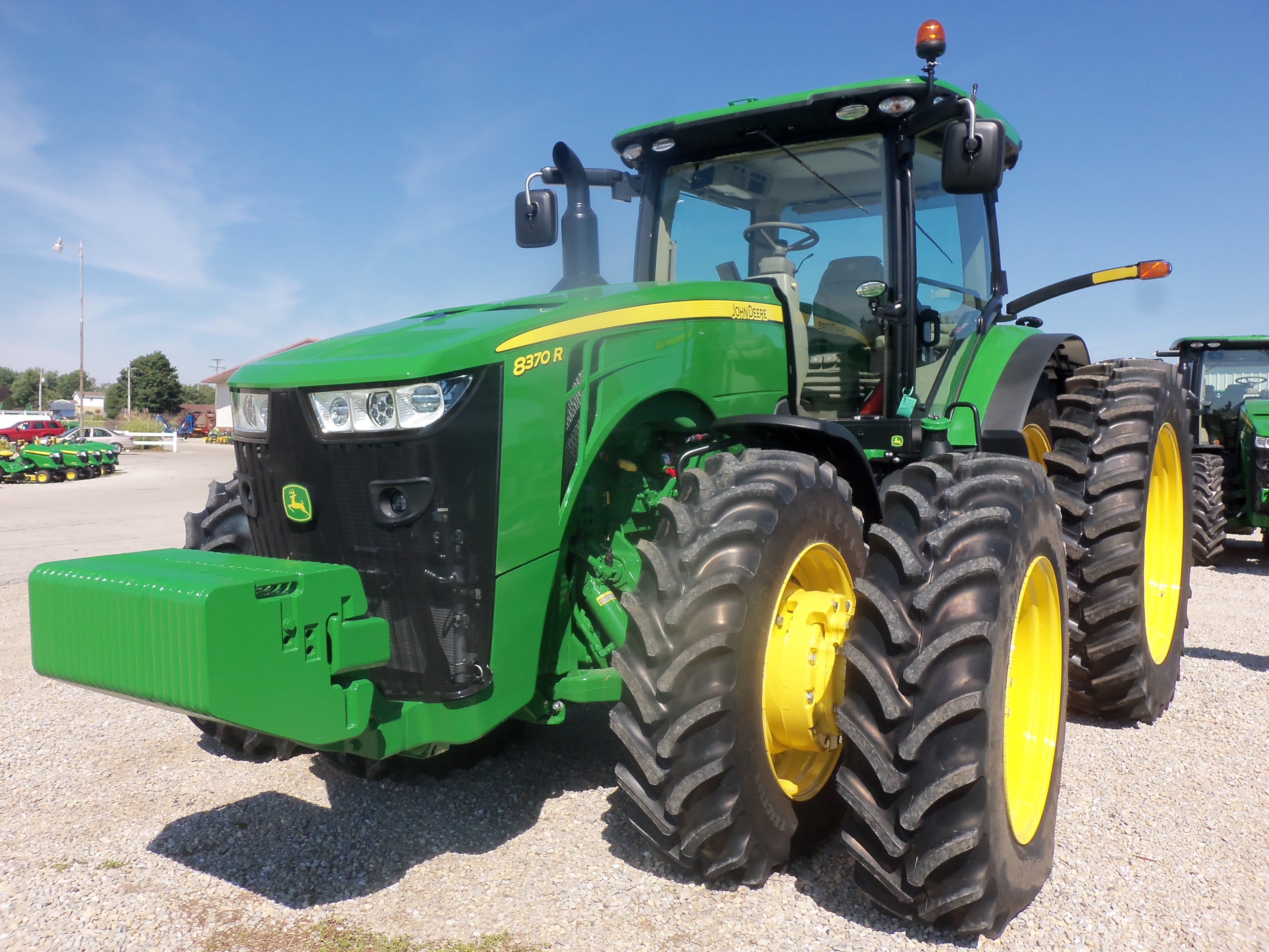 Front Duals For Tractors : Hp john deere r wheel tractor with front duals