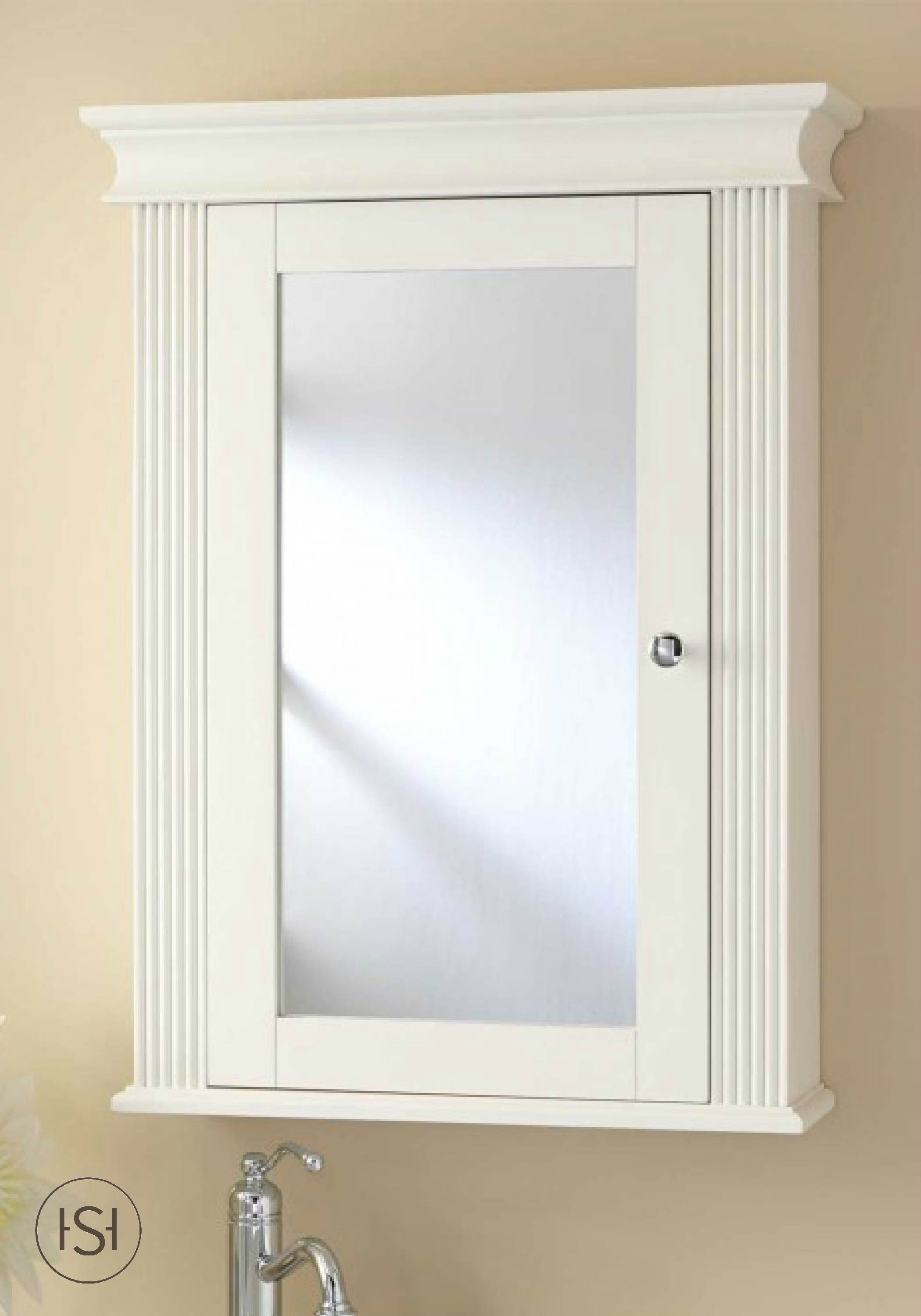 Finish Your Newly Remodeled Guest Bathroom With This Medicine Cabinet From Sign Medicine Cabinet Mirror Wall Mounted Medicine Cabinet Bathroom Medicine Cabinet