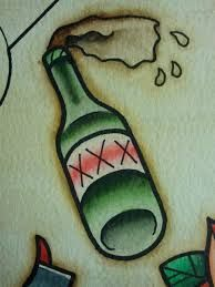 Image result for message in a bottle tattoo