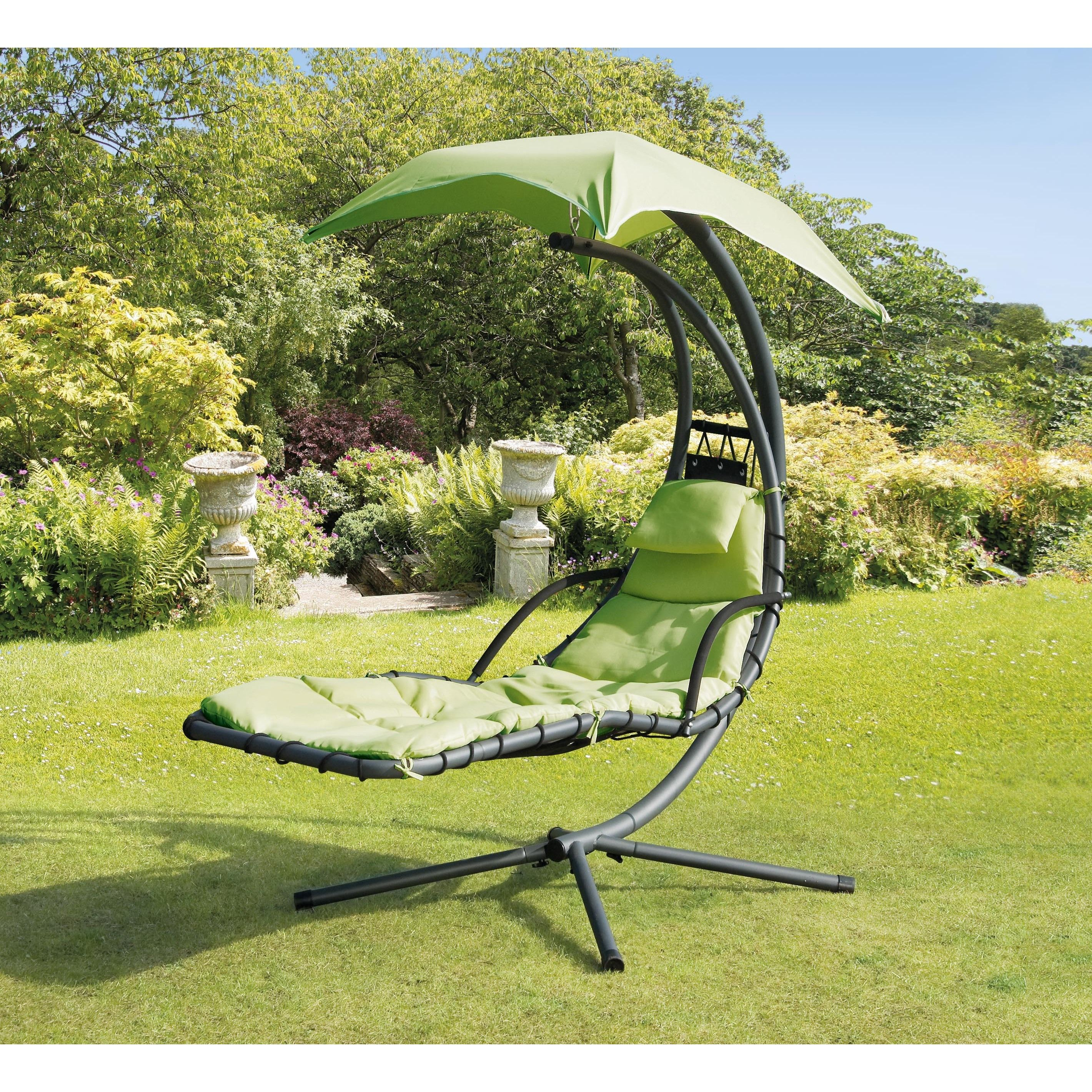 Steel helicopter swing lime green patio furniture swings steel