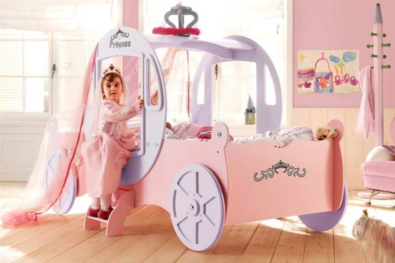 Dreamy Cinderella Carriage Bed Designs For Girls Rilane Dream