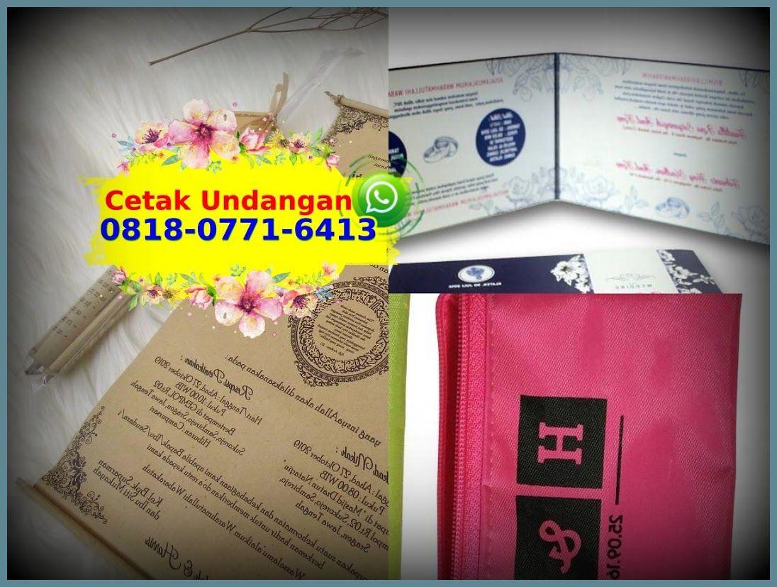 Undangan Pernikahan Jogja 2020 0818 0771 6413 Whatsapp Book Cover Agen Books