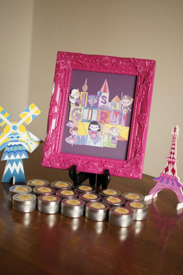 Its A Small World Disney Baby Shower Decorations