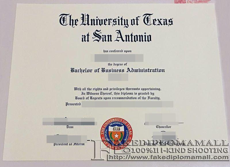 the university of texas at san antonio fake degree where to by university of texas