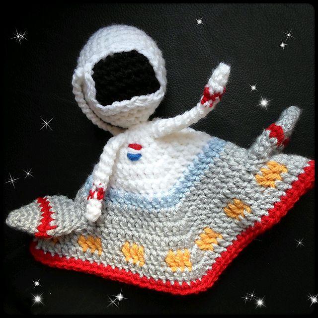 Ravelry: Astronaut Lovey pattern by A la Sascha   Crochet y ...
