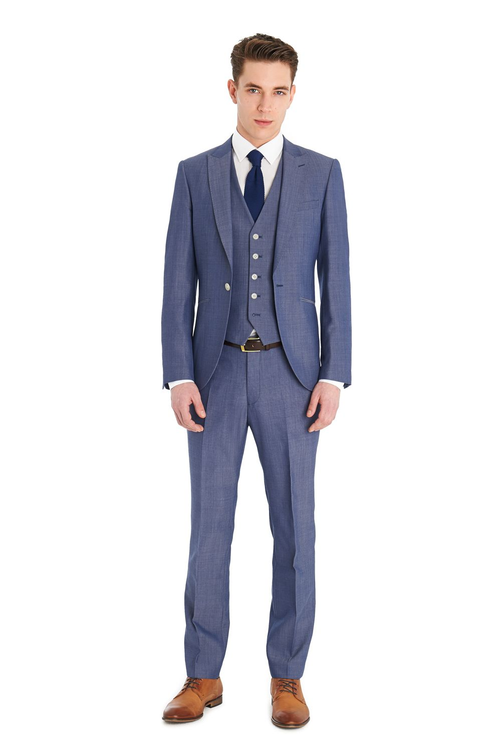 blue suit - Google zoeken | suits | Pinterest | Light blue suit ...