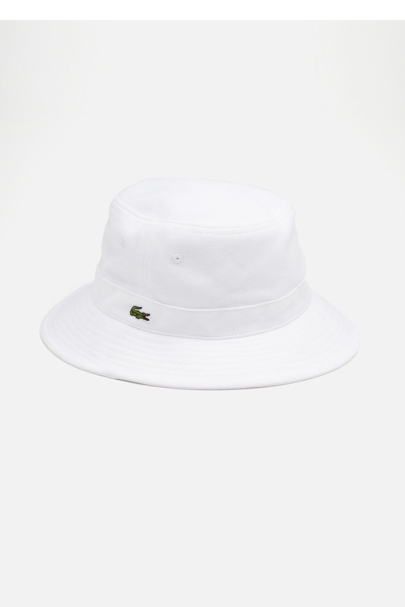 02166c16edd Lacoste Men s Pique Bucket Cap   Caps   Hats