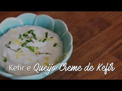 As Minhas Receitas: Kefir e Queijo de Kefir