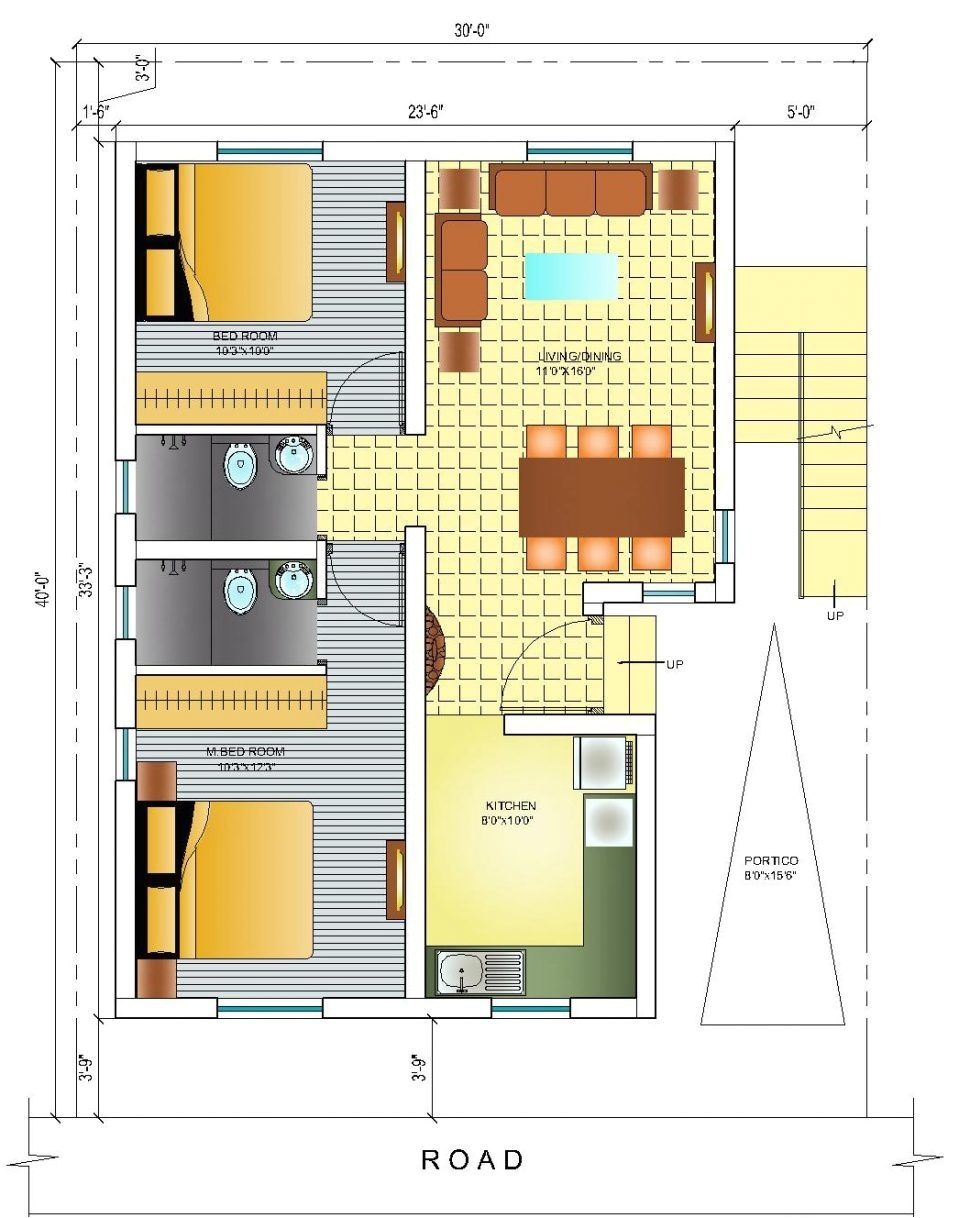 20x40 House Plans South Facing Check More At Https Bradshomefurnishings Com 20x40 House Plans South Fac South Facing House Indian House Plans 2bhk House Plan