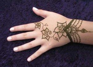 Simple Wrist Mehndi : Simple wrist mehndi design back hand mehandi designs
