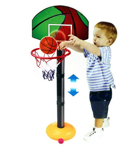 Adjustable Basketball Hoops For Toddlers Basketball Toy For Kids Egifts2u Com Adjustable Basketball Hoop Basketball Toys Toddler Basketball