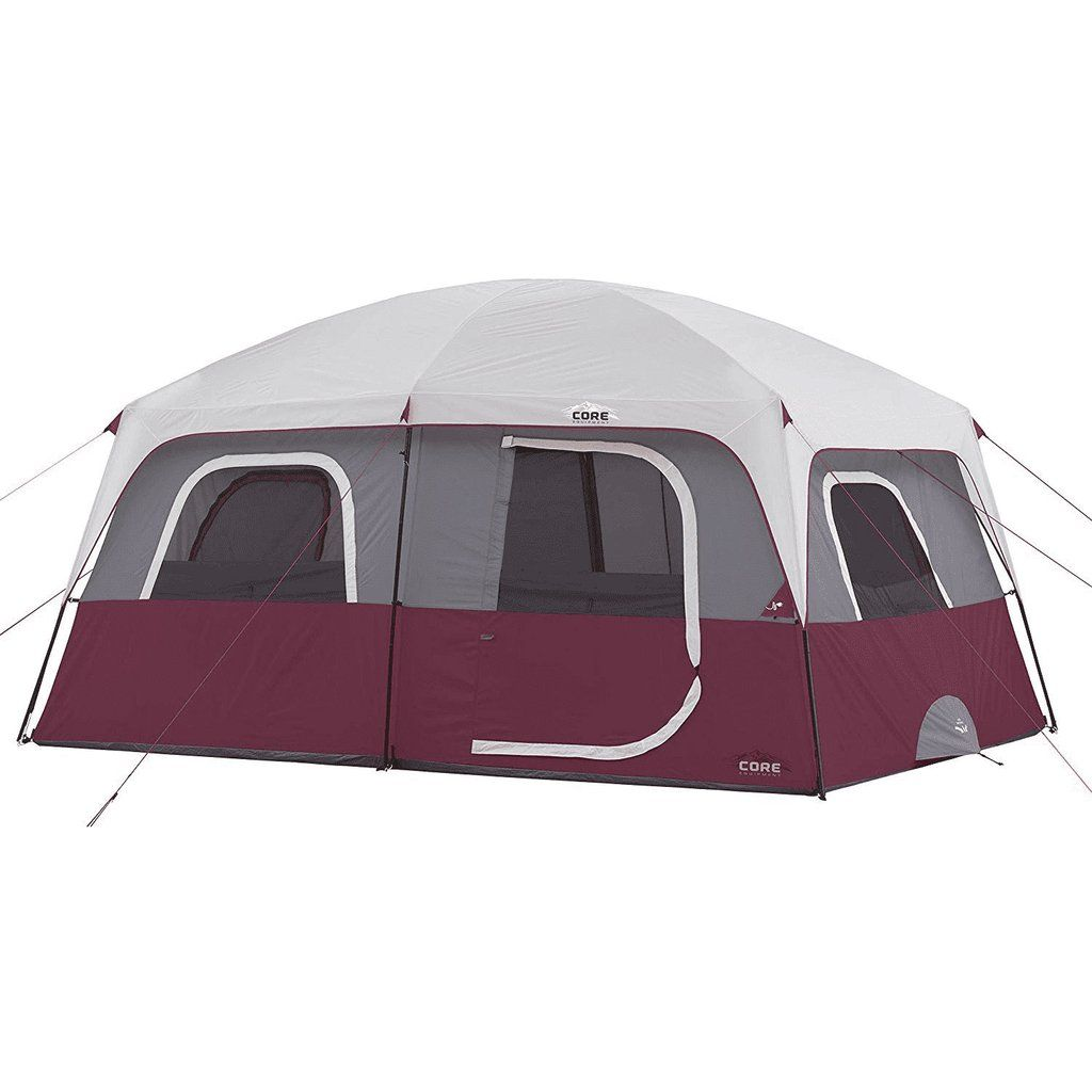 CORE Straight Wall 14 x 10 Foot 10 Person Cabin Tents