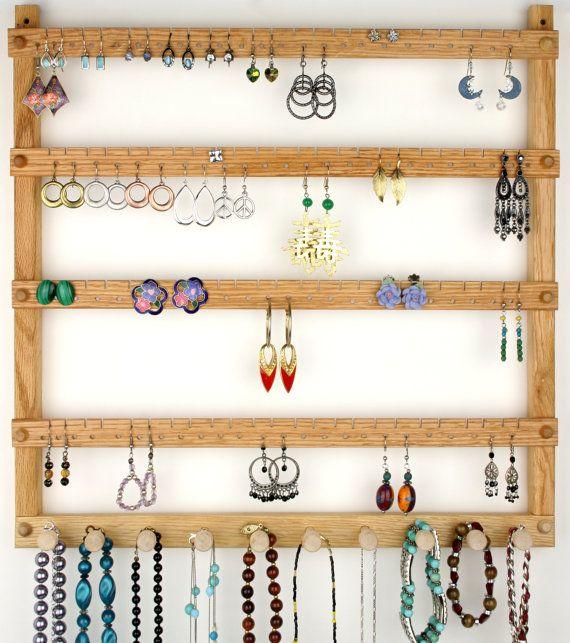 Earring Holder Jewelry Organizer plus by TomsEarringHolders
