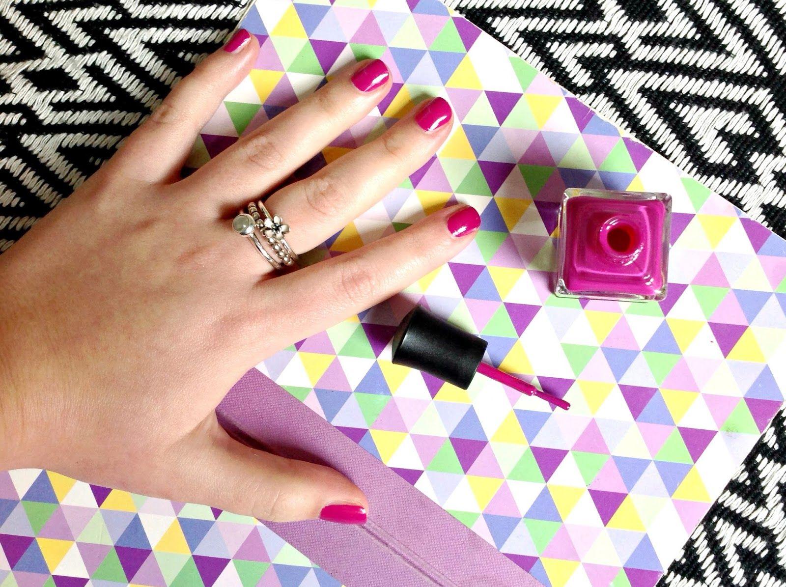Radiant orchid nails for summer. Deborah Lippmann! Everything\'s ...