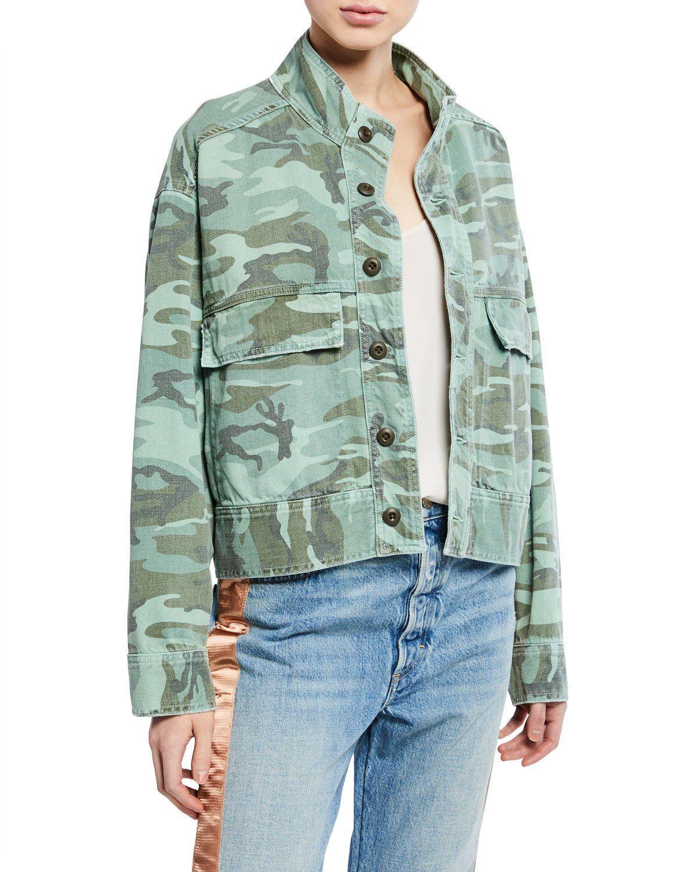 Amo Denim Women S Army Patch Camo Jacket Mod And Retro Clothing Denim Women Amo Denim Denim Jacket Women [ 1500 x 1200 Pixel ]