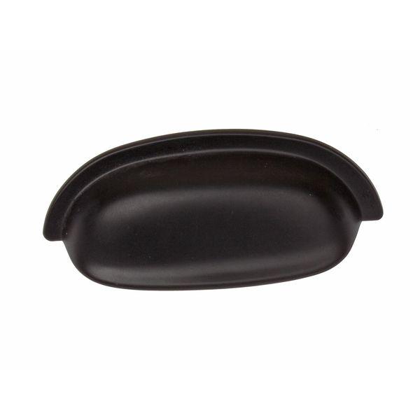 GlideRite 2.5 Inch Matte Black Classic Bin Cabinet Pulls (Pack Of 10)  (Matte Black)