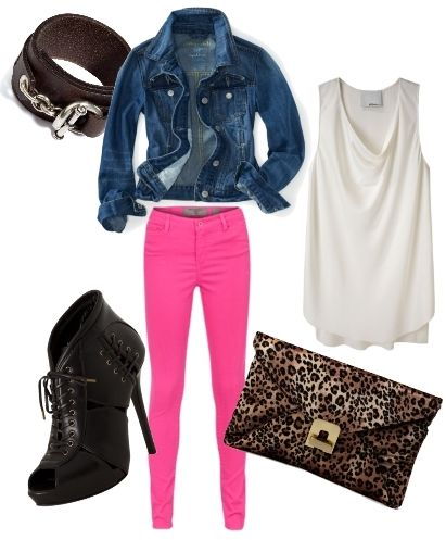 pink white blue