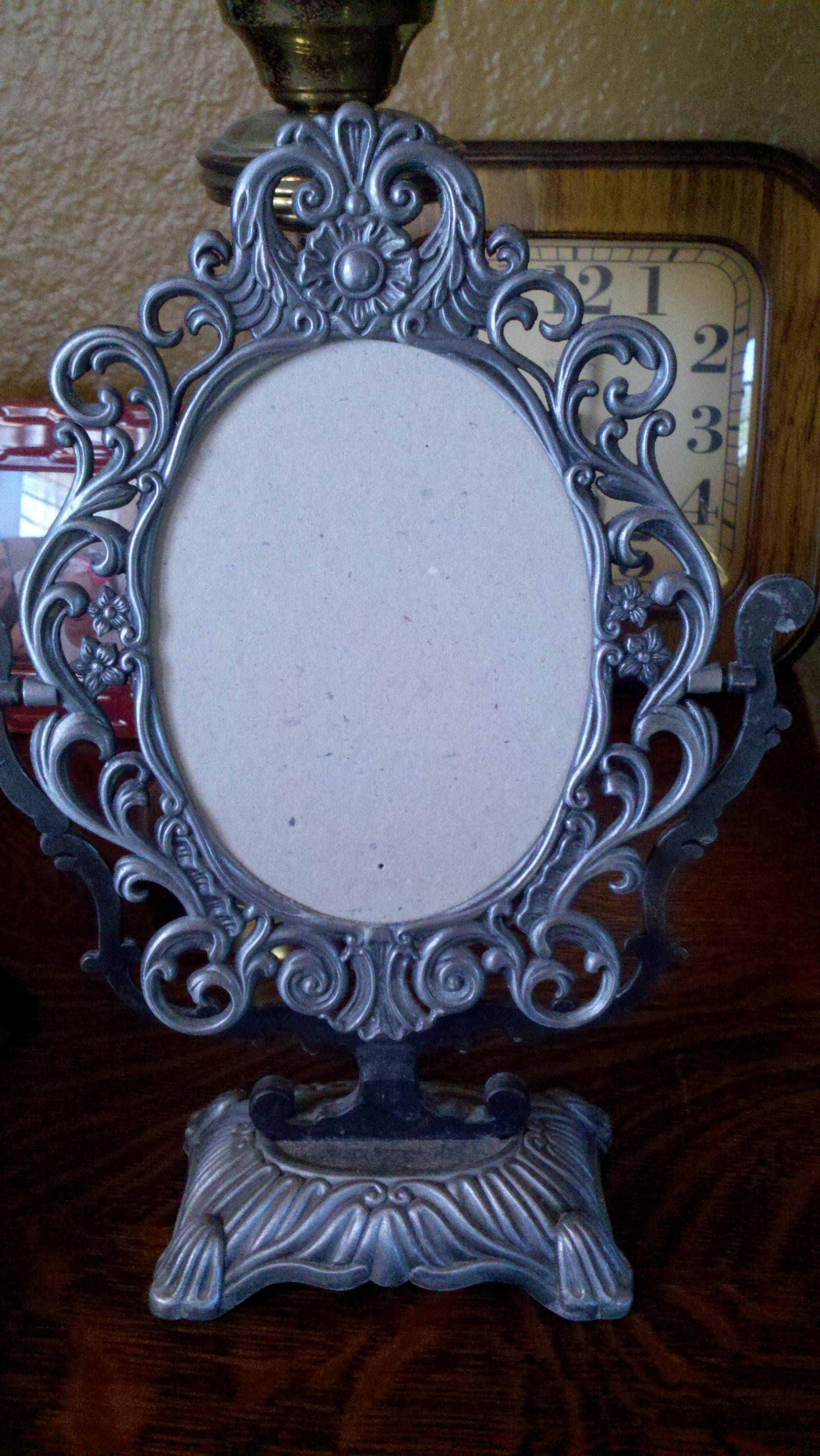 Pewter frame found at flea market today $2.00