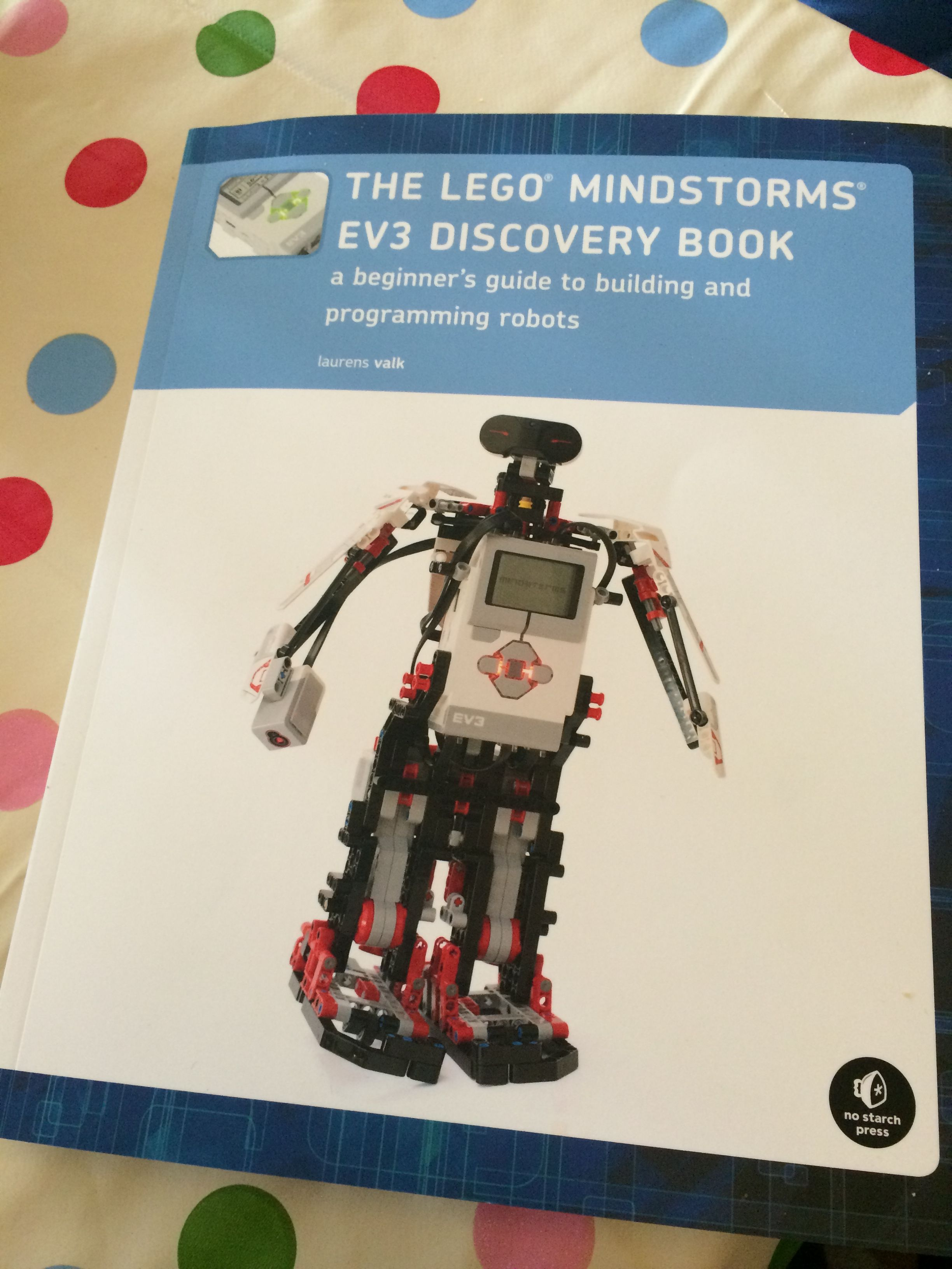 Review: Lego Mindstorms EV3 discovery book | mindstorm ev3 ...